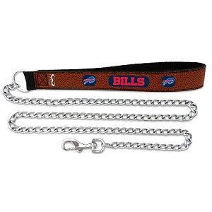 Buffalo Bills Football Leather 2.5mm Chain Leash
