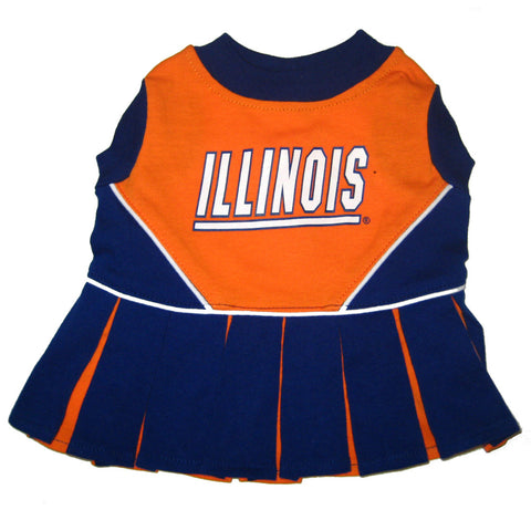 Illinois Fighting Illini CheerLeading Uniform