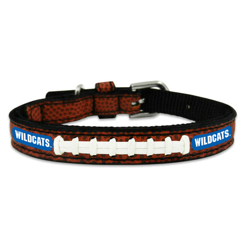 Kentucky Wildcats Classic Leather Toy Football Collar