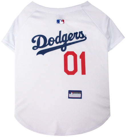 Los Angeles Dodgers Baseball Dog Jersey