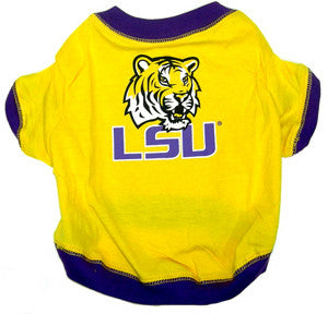 LSU Tigers Pet T-Shirt