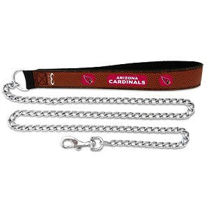 Arizona Cardinals Football Leather 2.5mm Chain Leash