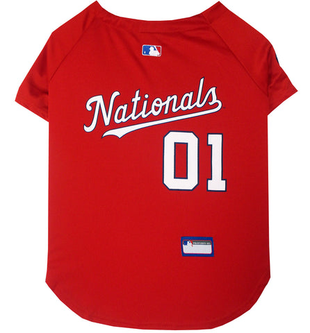 Washington Nationals Baseball Dog Jersey