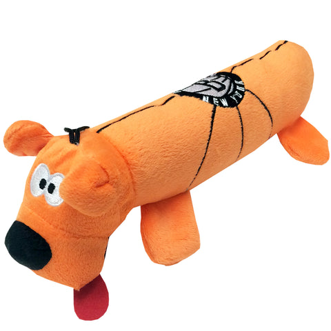 Brooklyn Nets Plush Squeaky Dog Tube Toy