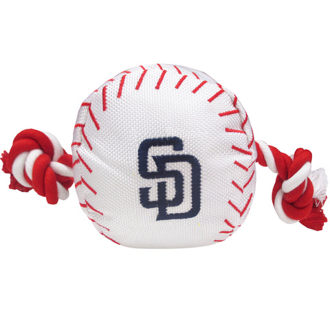 San Diego Padres Nylon Baseball Rope Pet Toy