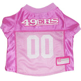 San Francisco 49ers  Pink Jersey
