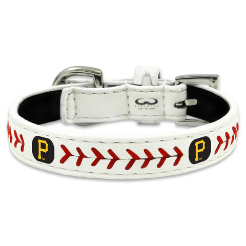 Pittsburgh Pirates Classic Leather Toy Baseball Collar