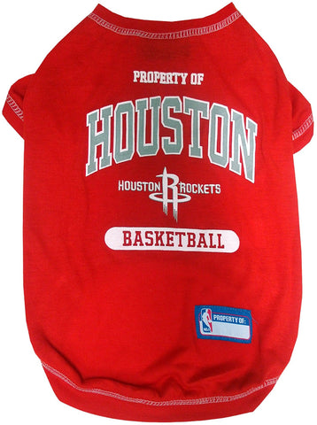 Houston Rockets Pet T-Shirt