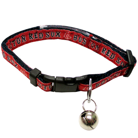 Boston Red Sox Cat Collar