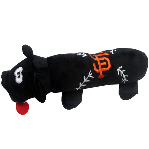 San Francisco Giants Plush Squeaky Dog Tube Toy