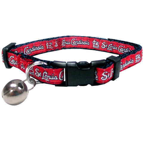 St. Louis Cardinals Cat Collar