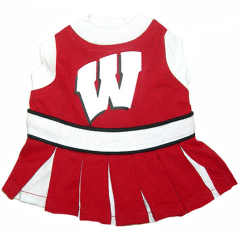 Wisconsin Badgers CheerLeading Uniform