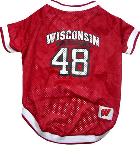 Wisconsin Badgers Mesh Jersey