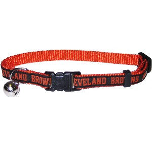 Cleveland Browns Cat Collar