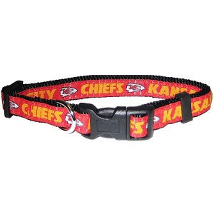 Kansas City Chiefs Nylon Collar