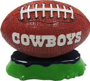 Dallas Cowboys Aquatic Ornament Football