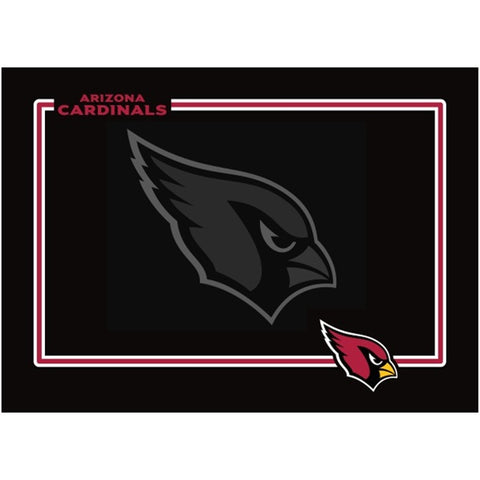Arizona Cardinals Black Pet Bowl Mat (New!)