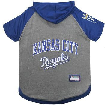 Kansas City Royals Hooded Dog T-Shirt