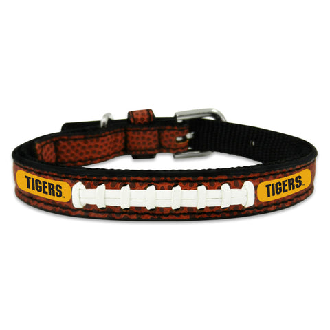 Missouri Tigers Classic Leather Toy Football Collar