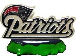 New England Patriots Aquatic Ornament Logo