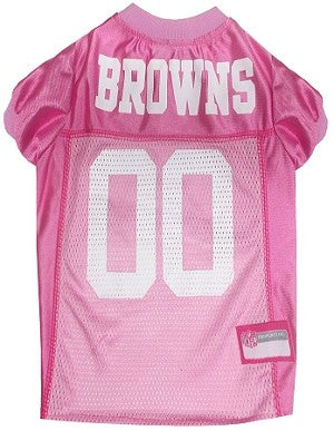 Cleveland Browns Pink Jersey