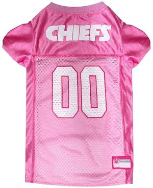 Kansas City Chiefs Pink Jersey