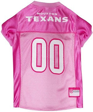 Houston Texans Pink Jersey
