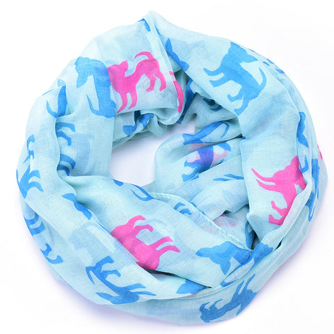 Chihuahua Lovers Print Scarf