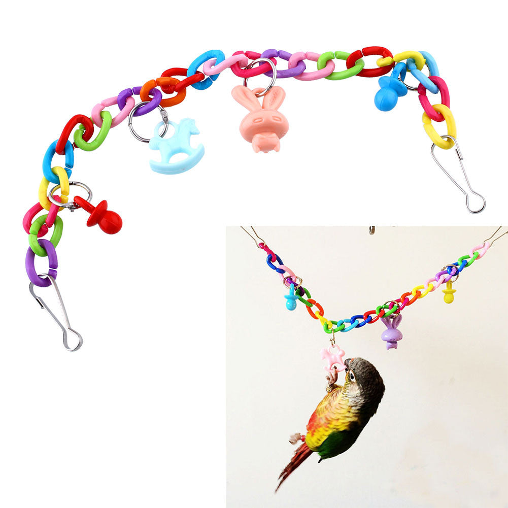 Colorful Bird Swing Toy