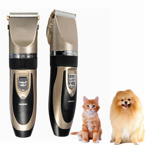 Professional Rechargeable Pet Grooming Kit