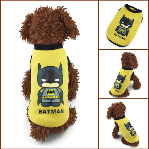 Action Figure 100% Cotton Pet Outfit