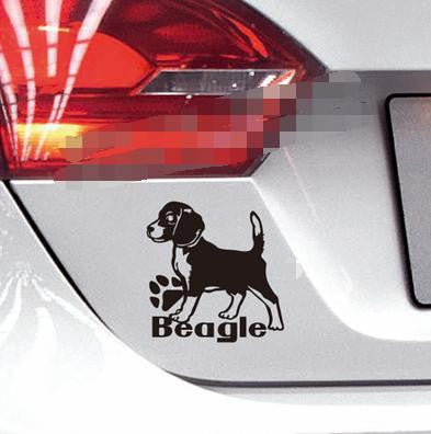 Beagle Lovers Cool Decorative Reflective Decal