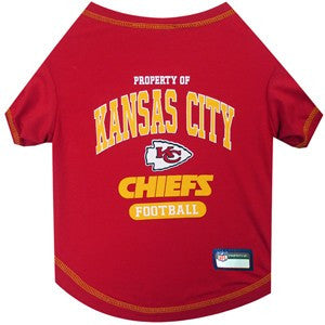 Kansas City Chiefs Pet T-Shirt