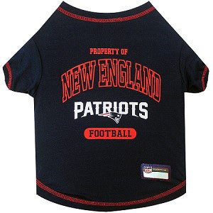 New England Patriots Pet T-Shirt �C Marley's Pet Gear