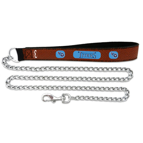 Tennessee Titans   Football Leather 2.5mm Chain Leash