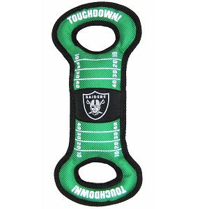Oakland Raiders  Field Tug Toy
