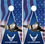 Air Force Cornhole Wraps