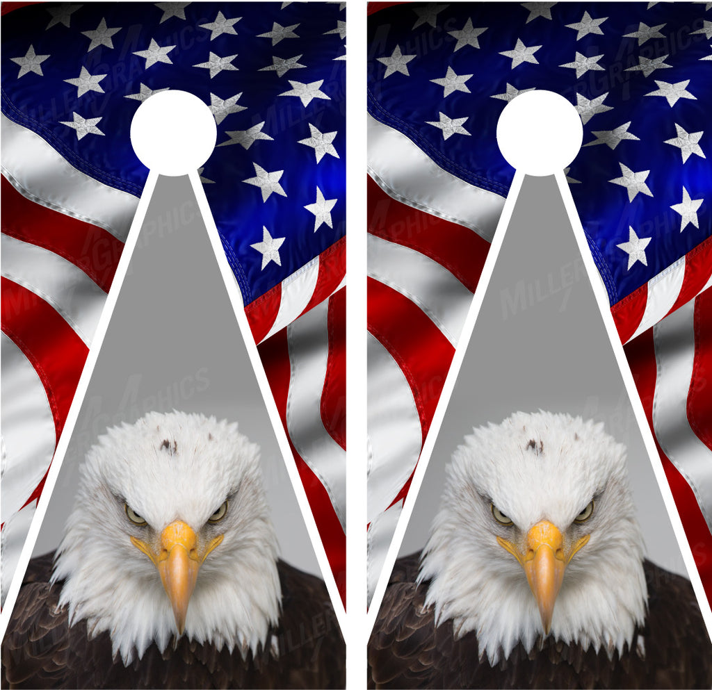 American Flag Bald Eagle #4