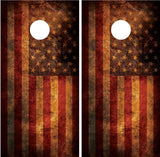 American Flag Distressed Grunge