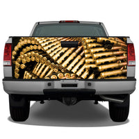 Ammunition (Bullets) Tailgate Wrap