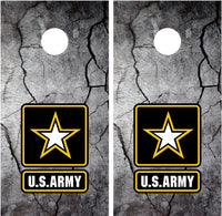 Army Cracked Rock