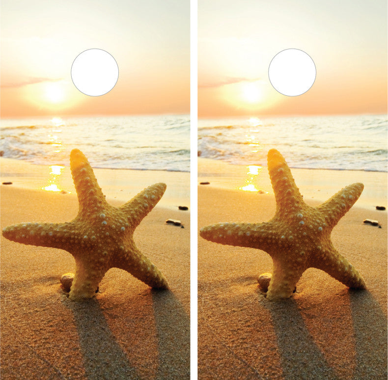 Beach Sunset Starfish