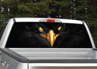 Black Eagle Rear Window Decal
