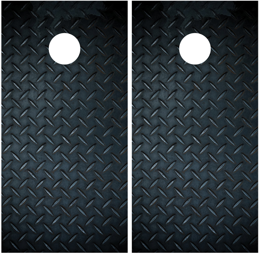 Diamond Plate Black