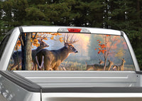 Buck Deer Scenery Rear Window Decal