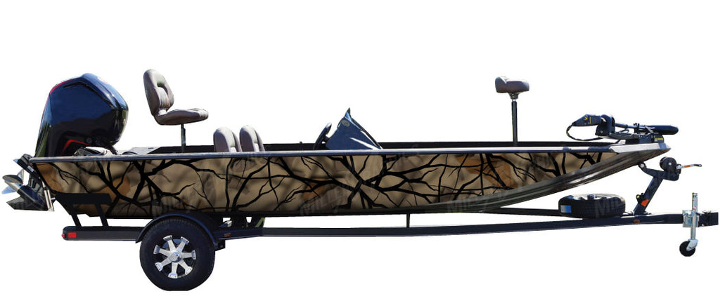 """Savage Fall"" Camo Boat Wrap Kit"
