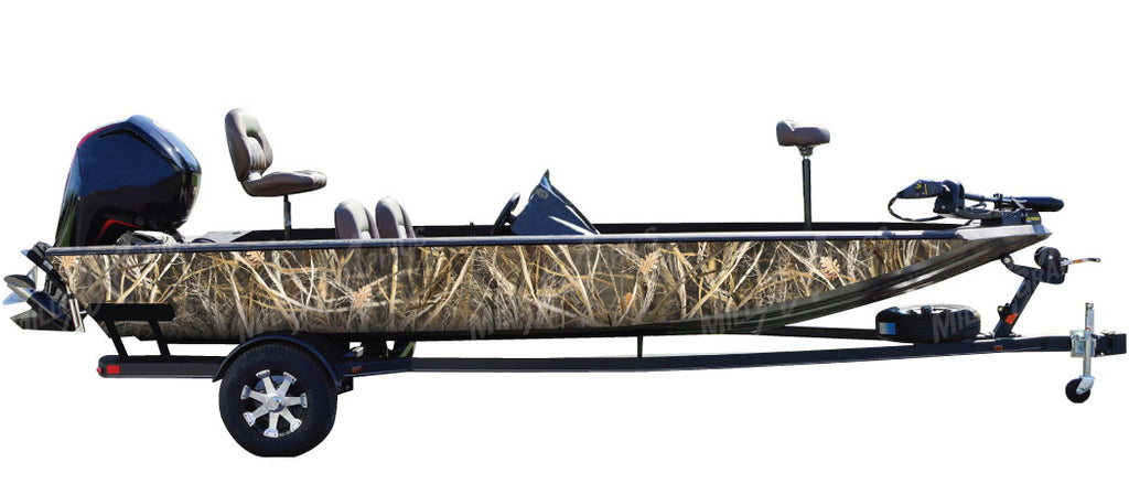 """Tall Grass"" Camo Boat Wrap Kit"