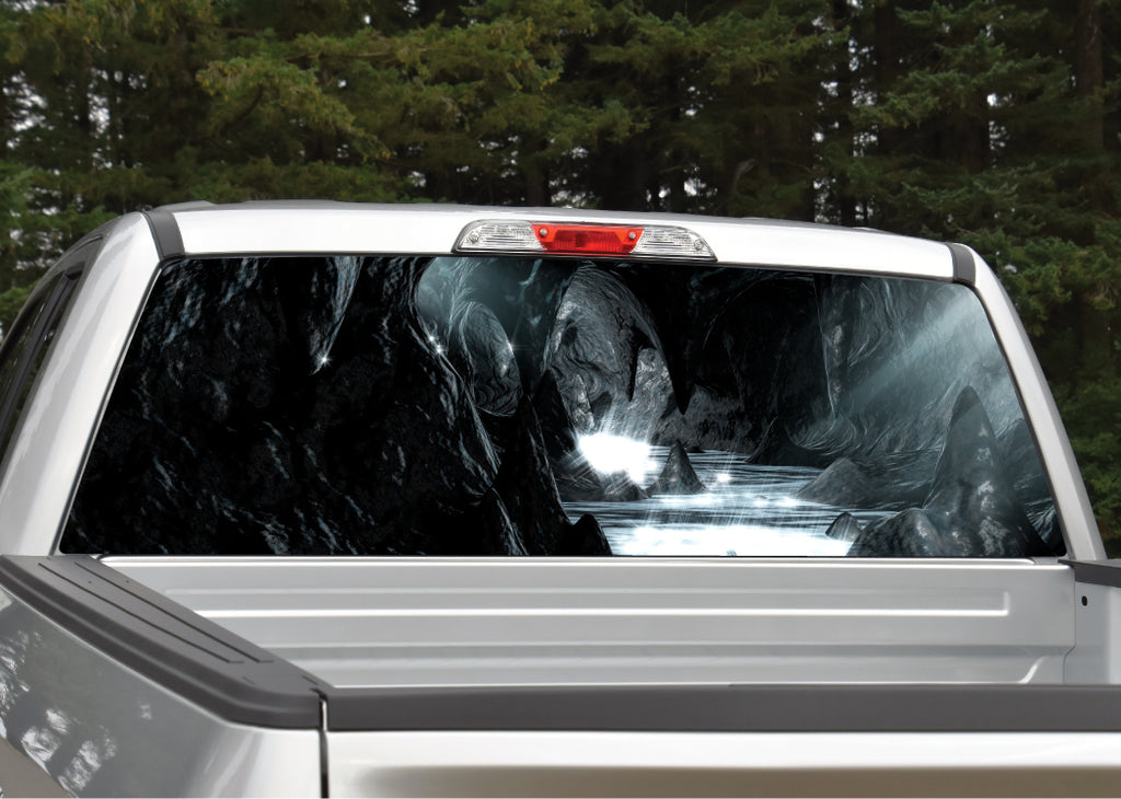 Cave Caverns Rear Window Decal