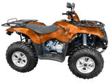 Chameleon Orange Camo ATV Wrap Kit