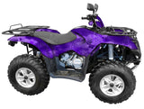 Chameleon Purple Camo ATV Wrap Kit